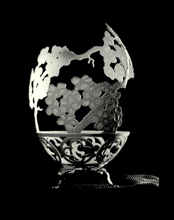 Creative Egg Carving Art