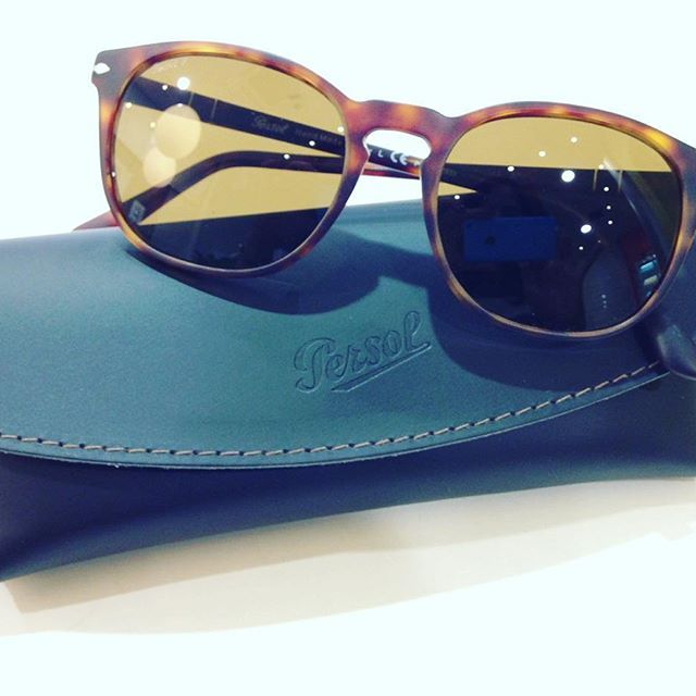 New Persol in matte brown and polarised lenses! Available at Be Seen Optics! #Persol #New #BeSeenOptics #Kolonaki #Halandri #Kifisia