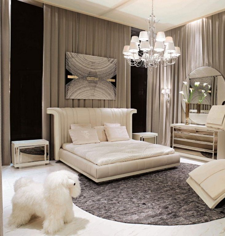 34 best luxury bedrooms images on pinterest luxury for Modern luxury furniture