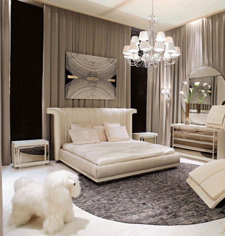 Luxury Bedroom Interior Design, Inspiring 5 Star Hotel Penthouse Suites, Luxurious Custom and Designer Bedroom Furniture From Beverly Hills California