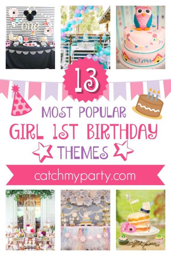 10 Most Popular Girl 1st Birthday Themes 20 Best Ideas 1st Birthday Party Themes For Girls 1st Birthday Themes 1st Birthday Girls Birthday Theme