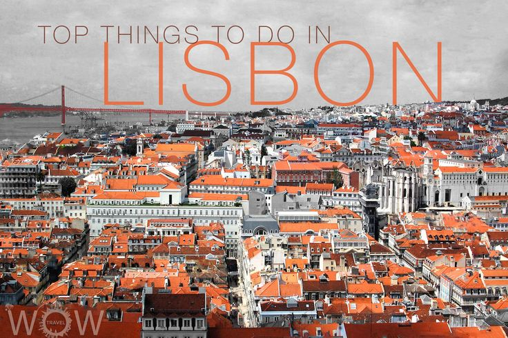 Top 10 Things To Do In Lisbon - via Wow Travel 26.03.2015 | Lisbon, the capital and largest city of Portugal, is a cosmopolitan city that offers amazing value and incredible sights, rich with history and filled with stories. It is loaded with exciting atmosphere, charm, delicious food, wild nightlife and wonderful people. In a city that has been influenced by many different far-off cultures over time, there is still a village feel in each historic neighborhood
