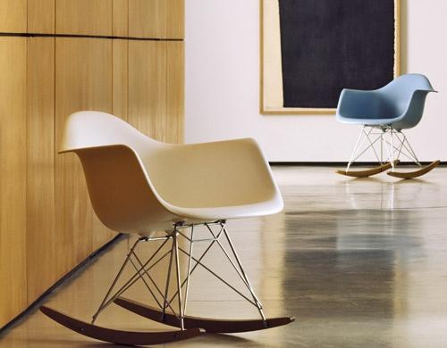 Eames Rocking Chair : Rar rocking armchair rod base charles eames