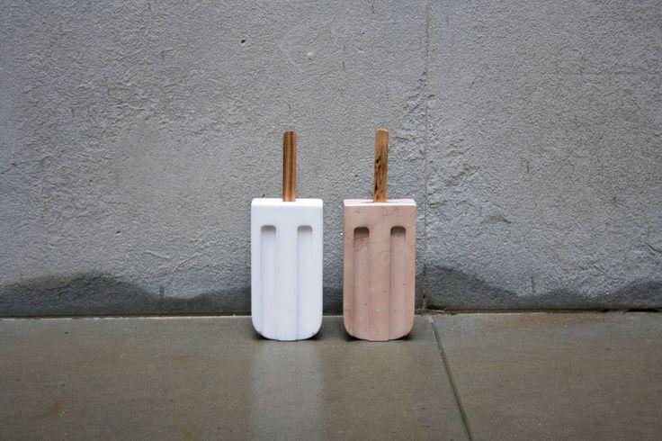 Marble Ice Lolly design by Amens Studio for Casone | www.amen-studio.com