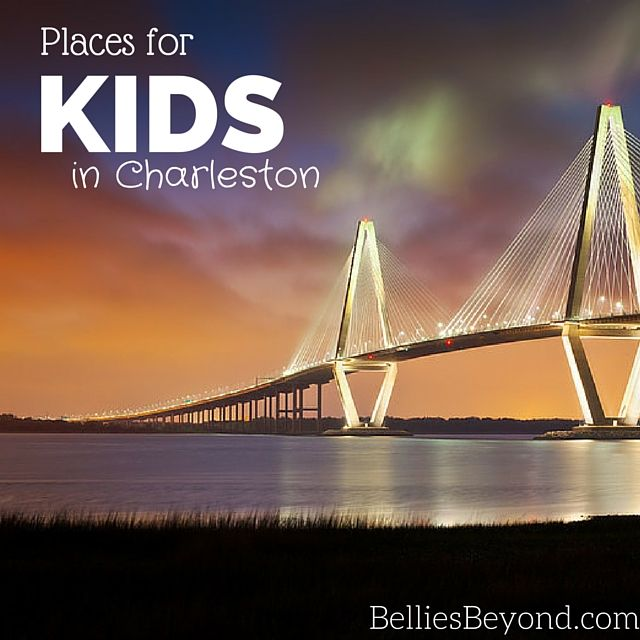 Things to do in Charleston SC with Kids!