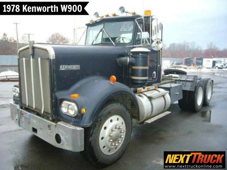 #ThrowbackThursday Check out this 1978 #Kenworth W900 Day Cab. View more Kenworth #Trucks at http://www.nexttruckonline.com/trucks-for-sale/by-make/Kenworth #Trucking #NextTruck