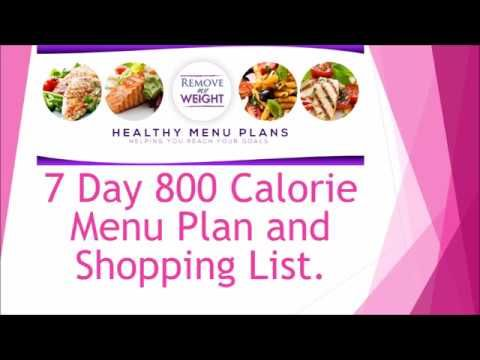 800 calorie meal plan to lose weight  free printable and
