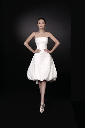 short bubble hem dress