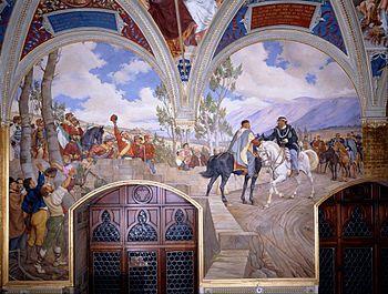 Incontro tra Giuseppe Garibaldi e Vittorio Emanuele II - Wikipedia