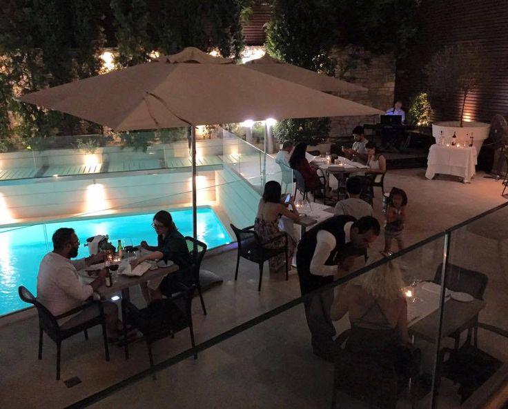 Live piano music evening every Monday and Thursday at Vetri Restaurant!  #galaxyhoteliraklio #dinner #piano #music