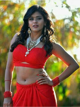 Telugu actress navel same