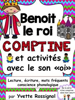Teach French phonics, sight words and basic sentence structures with original French poems...PERFECT for French immersion or elementary francophone classes! Tons of activities for centers or individual work.