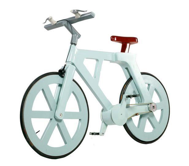 $20 Cardboard Bicycle by Izhar Gafni