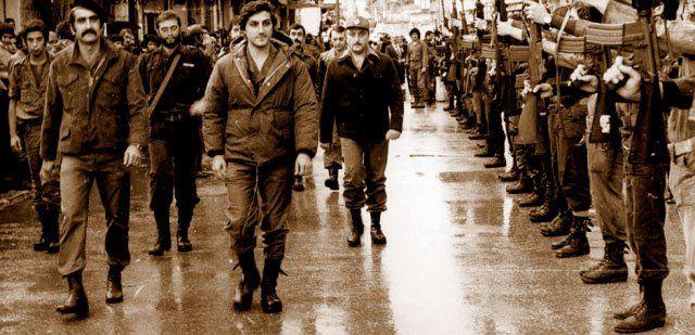 the walk of honor - achrafiyeh 1977- the Hundred Days War