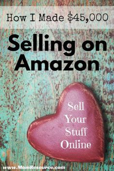 How to Sell on Amazon: make money from home as an Amazon seller. In 2014 during my pregnancy I was able to make money online and make money from home, allowing me to remain a stay at home mom to my newborn baby girl! Find out how you can sell your stuff online too: www.momresource.c...