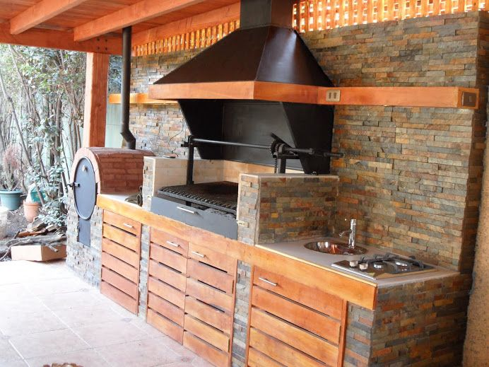 Las 25 mejores ideas sobre fogatas en pinterest y m s al for Modelos de terrazas rusticas