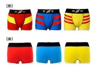 Goranger, Kamen Rider and Ultraman Underwear!