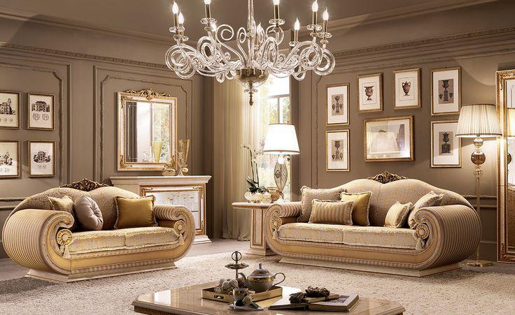 Leonardo Collection Living Room www.arredoclassic.com/living-room/leonardo