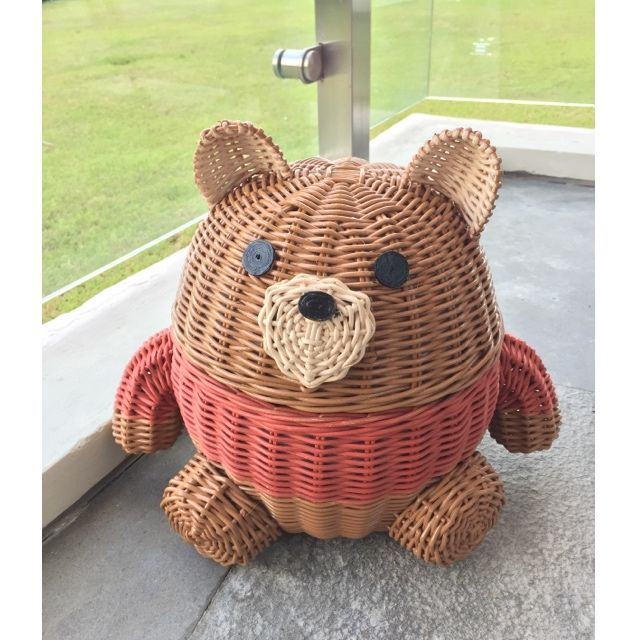 Keranjang Rotan bear