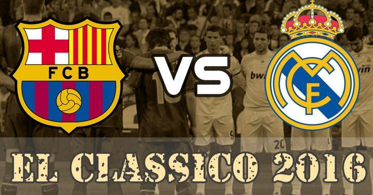 Barcelona vs Real Madrid La Liga 2016 Live Streaming