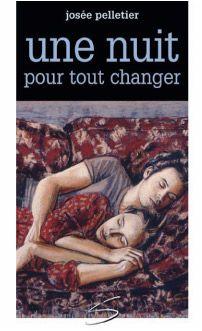 Une nuit pour tout changer, Josée Pelletier, Soulières éditeur, coll. Graffiti (ado), 264 -   Il est membre de l'équipe de hockey midget AAA, elle fait partie de l'élite du Québec en patinage artistique.   Deux jeunes. Deux univers. Et un seul destin.