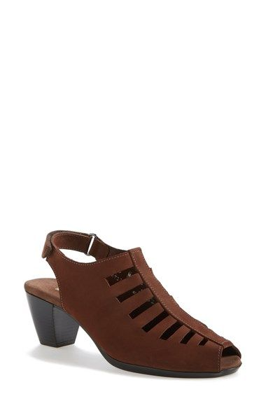 Munro 'Abby' Slingback Bootie (Women) available at #Nordstrom