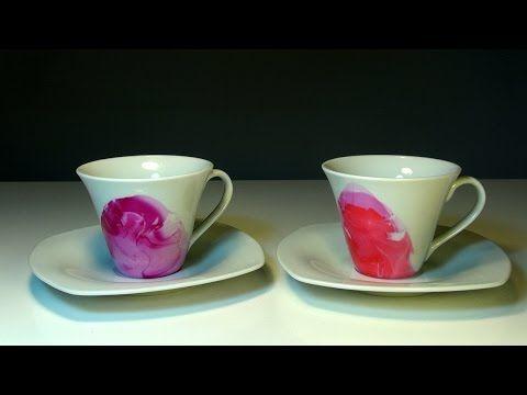 Простой декор кружки для чая или кофе своими руками DIY