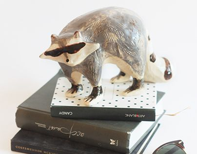 "Check out new work on my @Behance portfolio: ""Raccoon sculpture"" http://be.net/gallery/57729429/Raccoon-sculpture"