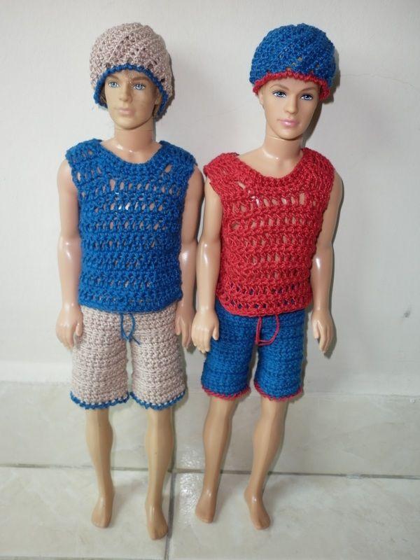 Crochet Casual Kens
