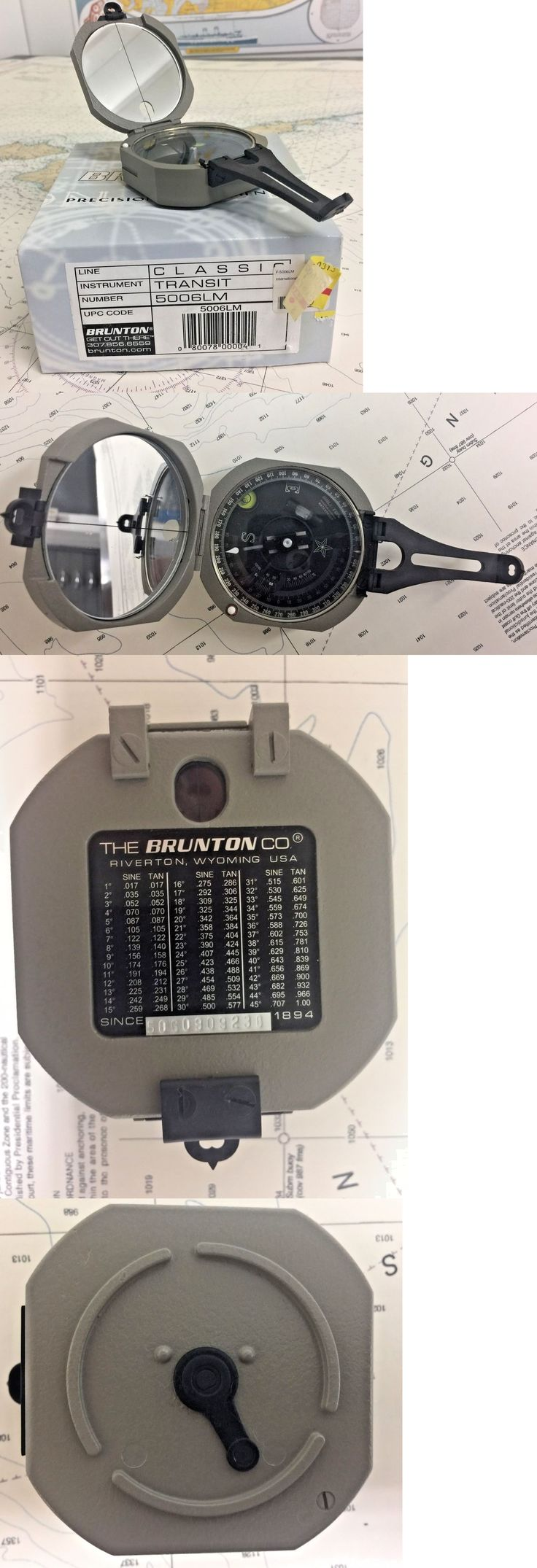 Compasses and GPS 52482: Brunton Pocket Transit International Compass With 0-360 Degree Scale -> BUY IT NOW ONLY: $349.95 on eBay!