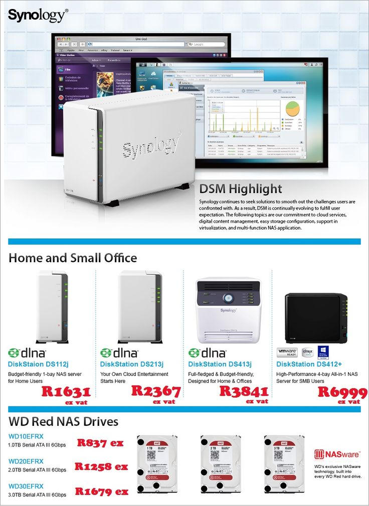 Synology. contact laurenp@ilembetech.co.za