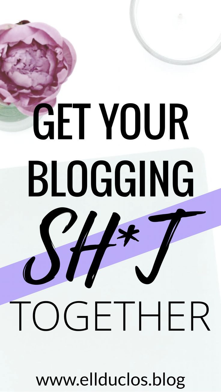 Do you have your blogging sh*t together? If not it's time to get it together! Here are some blogging goals to have this year to get you going!!  Make money blogging, boss girl blogger, how to make money blogging, how to start a blog, blogging goals