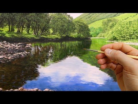 #63 How to Paint Realistic Trees | Oil Painting Techniques | Michael James Smith - YouTube