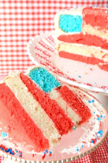 Munchkin Munchies: American Flag Cake & Smash Cake