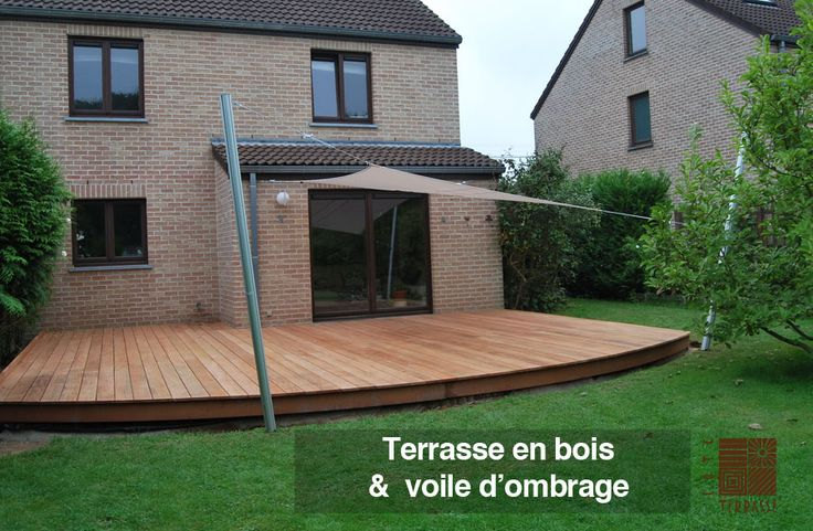 66 best images about archi voiles d 39 ombrage parasols on for Archi bois terrasse