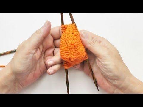 Socken Stricken #09 * Von der Spitze weg * Toe Up * eliZZZa's Super Easy Auffi-Abi Anschlag - YouTube