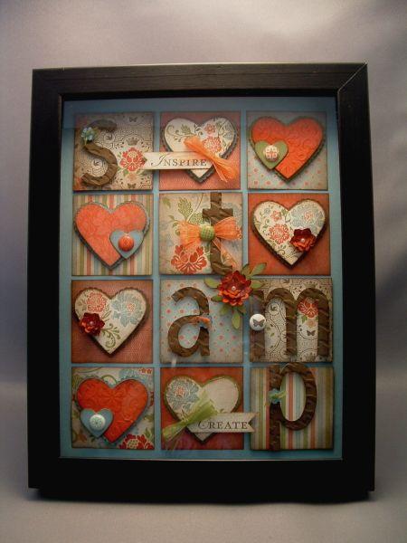 Stampin' Up!  Stamp Collage  Diane Vander Galien  Everyday Enchantment