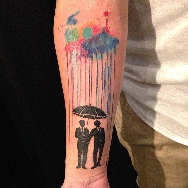 Best 25 gay pride tattoos ideas on pinterest gay tattoo for Tattoos for gay men