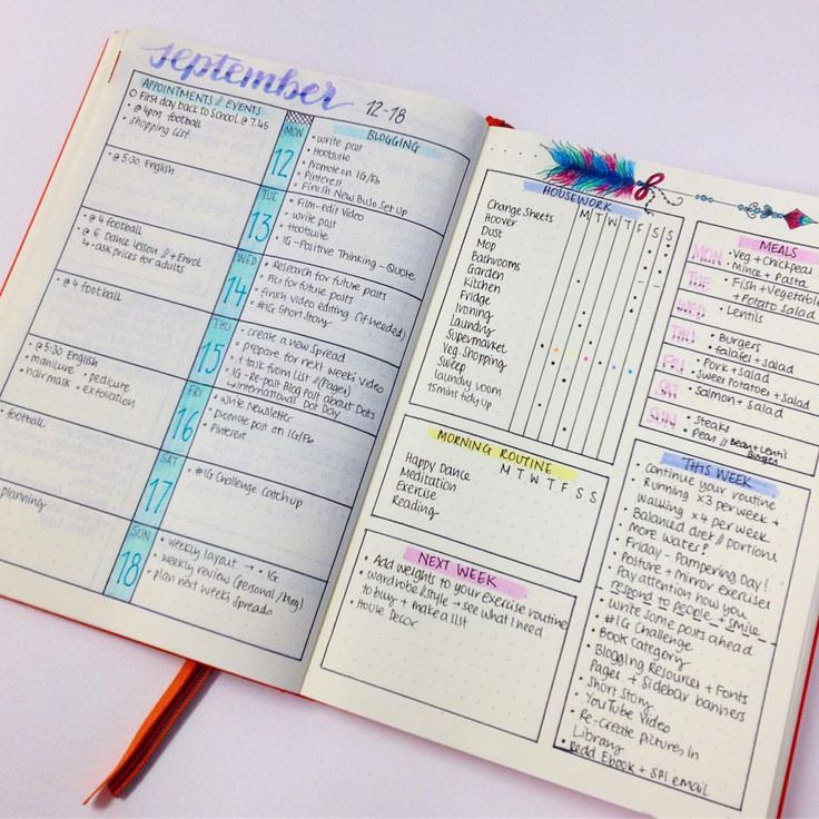 """974 mentions J'aime, 15 commentaires - Planner Inspiration (@christina77star) sur Instagram: """"I'm ready for next week 😊 I just finished with this week's layout and I love how it looks and how…"""""""