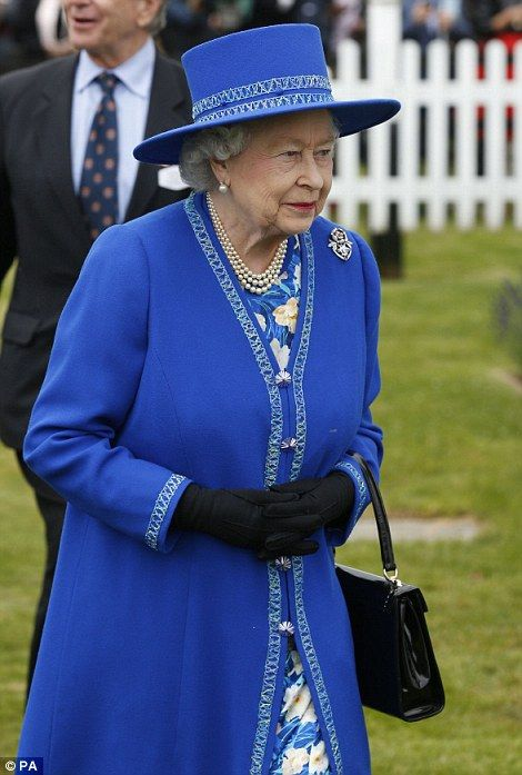 dailymail:  Queen Elizabeth at the Cartier Polo Cup, Guards Polo Club, Windsor Great Park, Berkshire, June 15, 2014.
