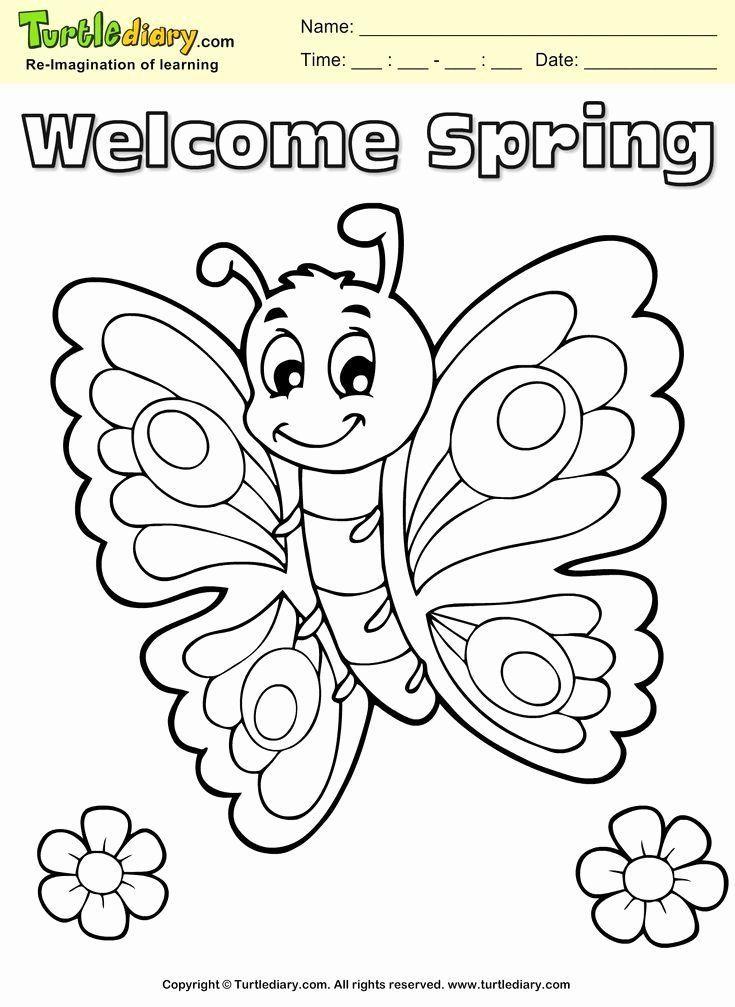Coloriages de printemps pour les enfants Unique Wel E ...