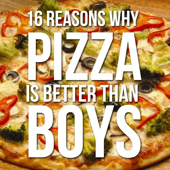 Such a wonderful list. I am in full support of dating pizza
