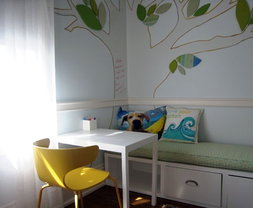 A Whiteboard Tree With Cork Leaves   I Have The Idea To Do A Chalkboard  Wall · Magnetic WallBoy DecorBig Girl RoomsPlay ...
