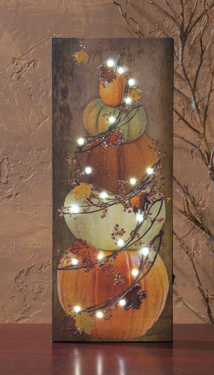 Shelley B Home and Holiday - Lighted Picture Fall Bittersweet Pumpkin Stack , $30.00 (http://shelleybhomeandholiday.com/lighted-picture-fall-bittersweet-pumpkin-stack/)