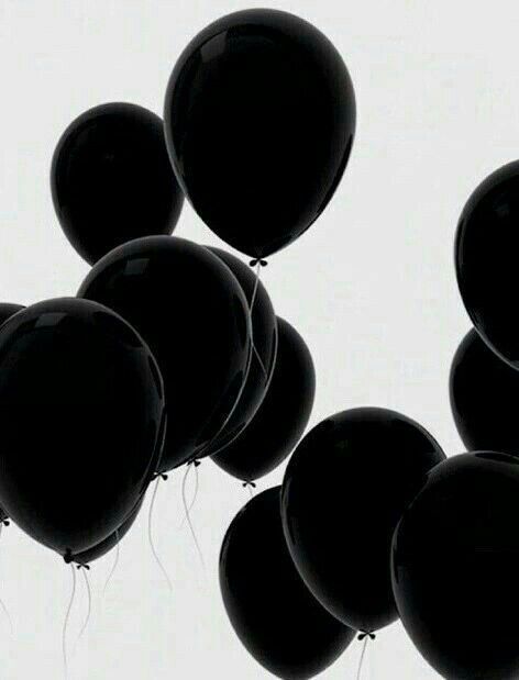 Even balloons mourn when you left