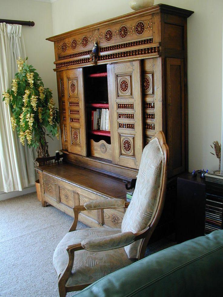 muebles y objetos antiguos hardcover