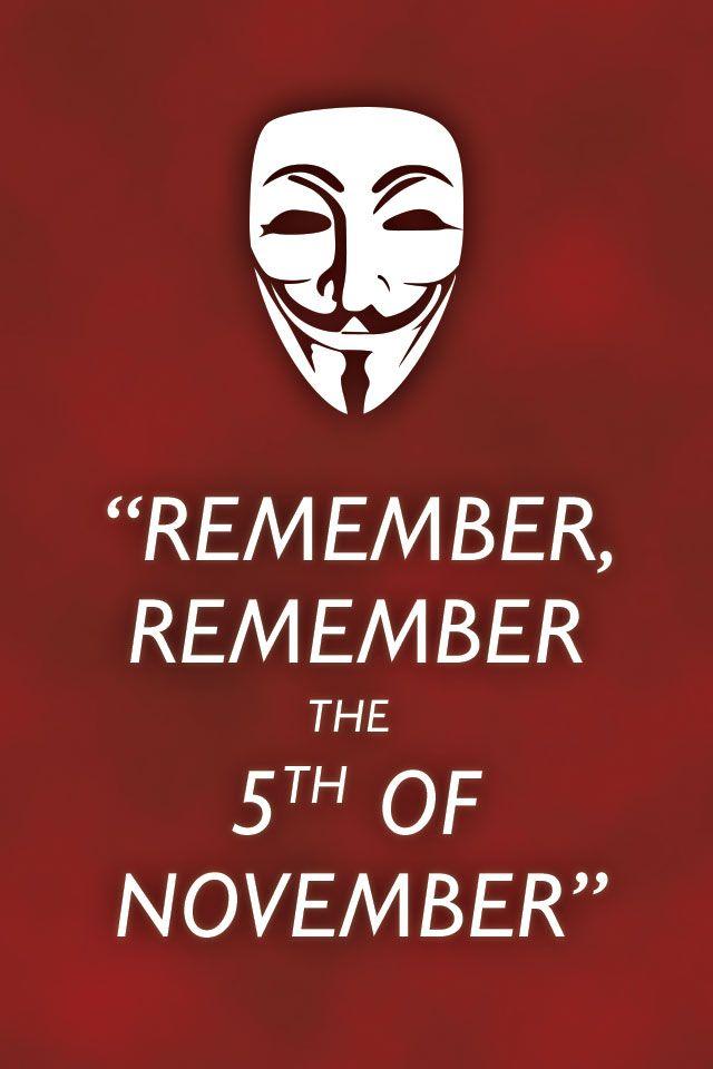 17 Best V For Vendetta Quotes on Pinterest | V for ...