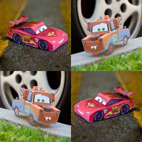 Brinquedos de Papel do Filme Carros 2 para brincar     Depois de assistir ano novo filme Cars2 as crianças vão querer é brincar ...