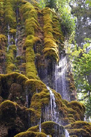La cascade du Musée promenade à Digne les Bains