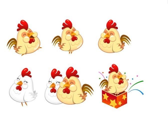 단월드 명상쉼터♡ :: 닭 캐릭터 이미지 - 2017 정유년의 캐릭터, 닭이에요 ^^